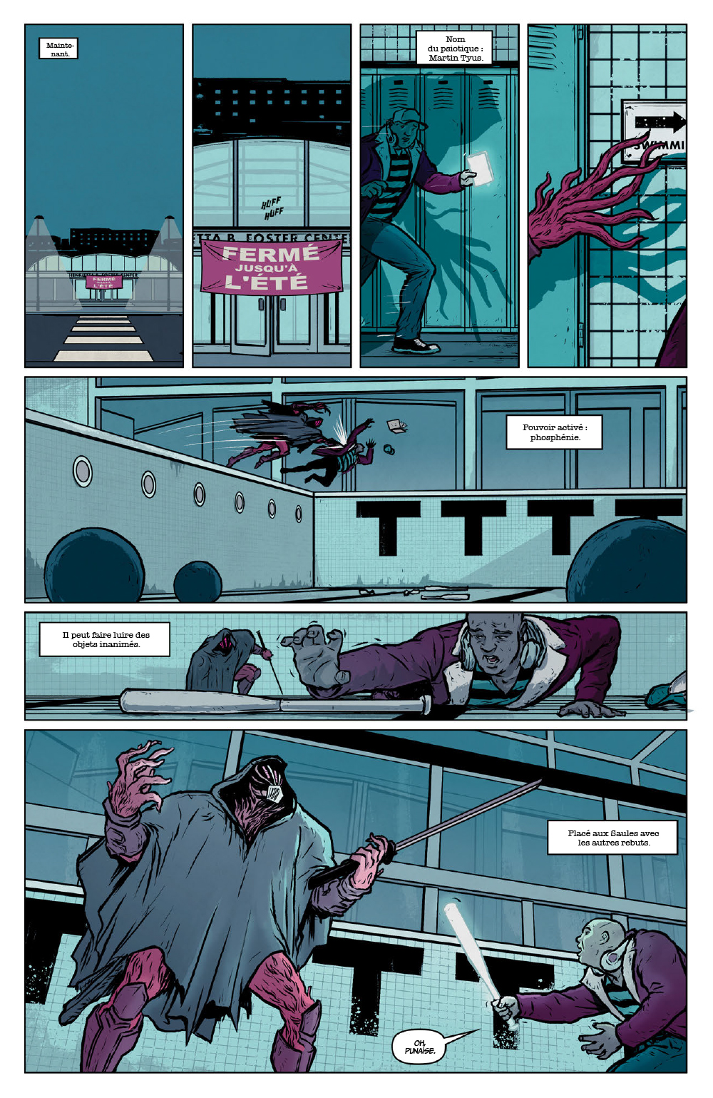Extrait n°8 du comics Secret Weapons par Raul Allen