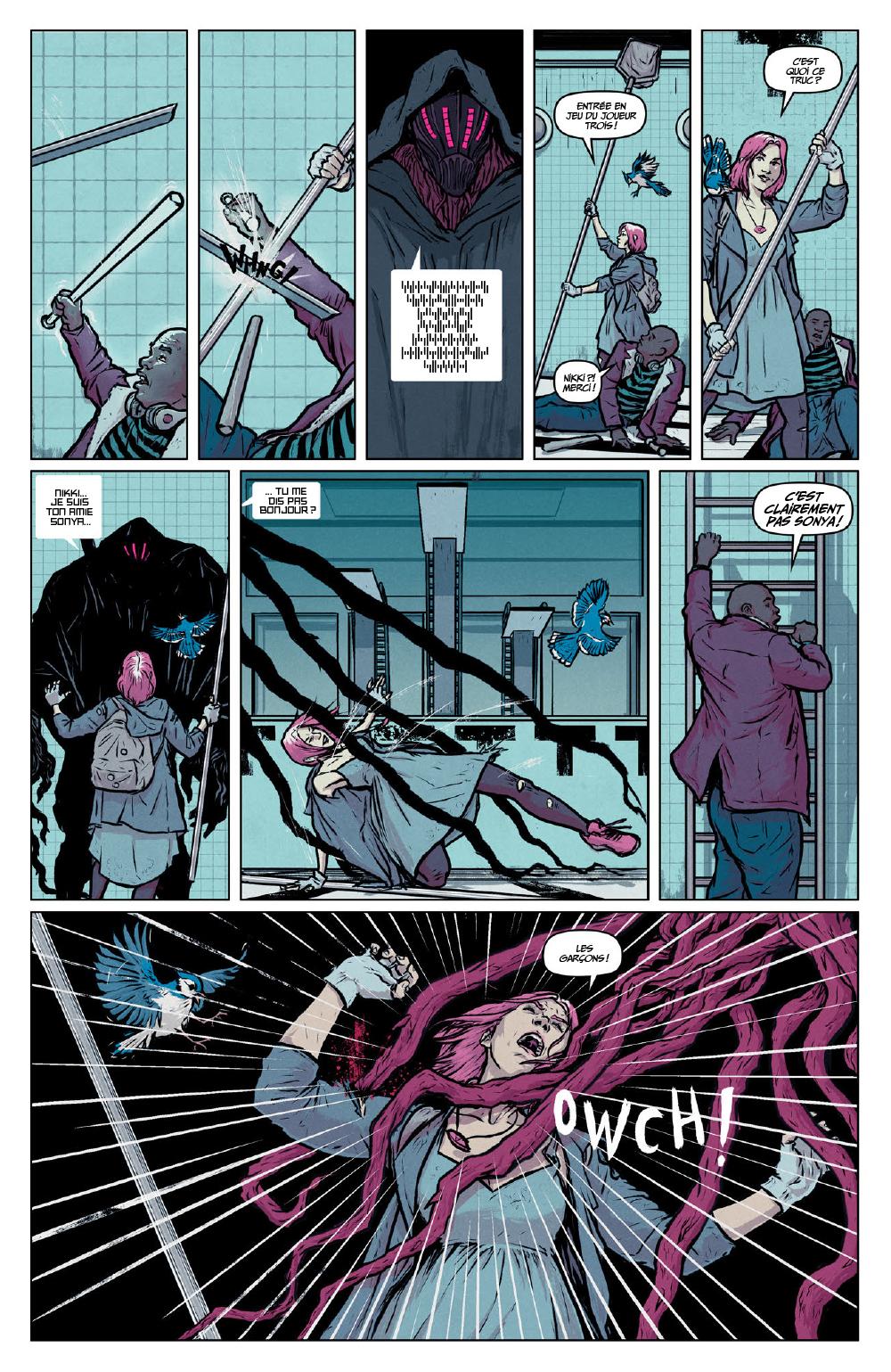 Extrait n°9 du comics Secret Weapons par Raul Allen