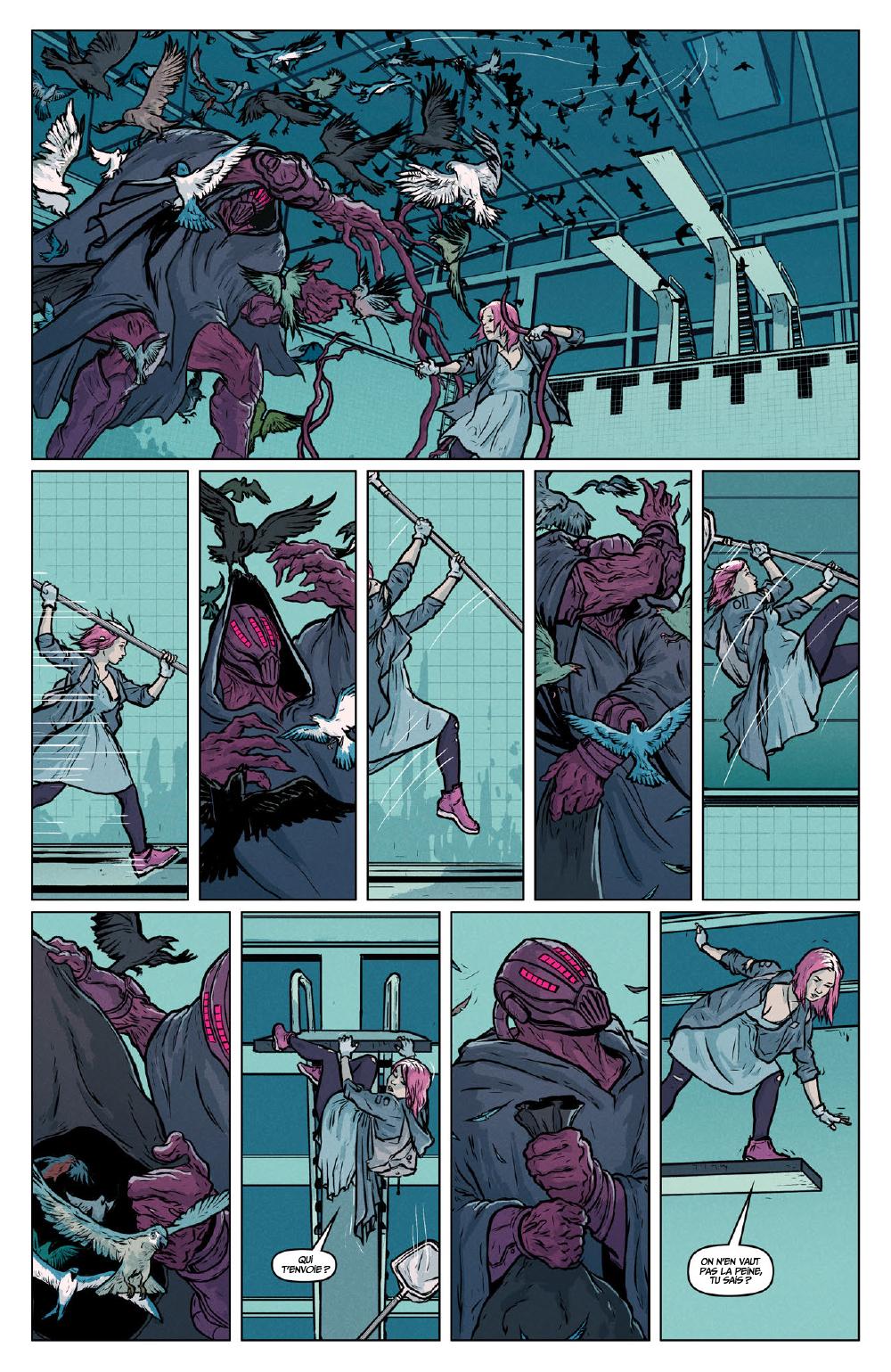 Extrait n°10 du comics Secret Weapons par Raul Allen