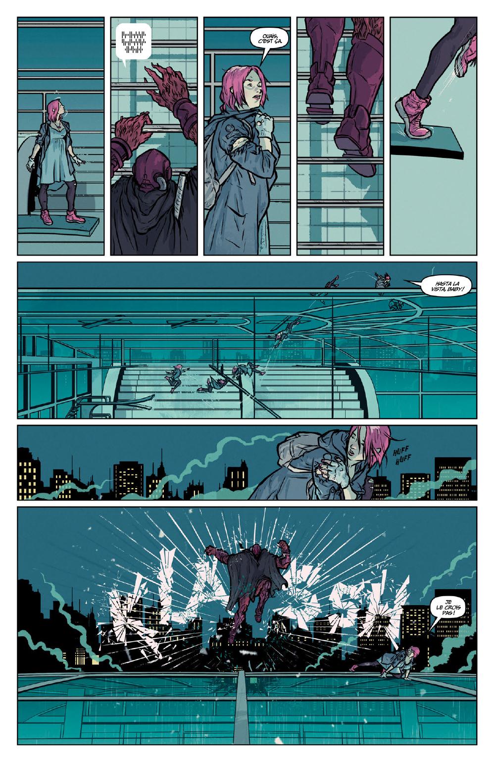Extrait n°11 du comics Secret Weapons par Raul Allen