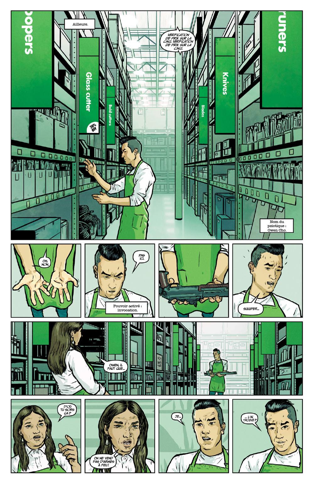 Extrait n°12 du comics Secret Weapons par Raul Allen