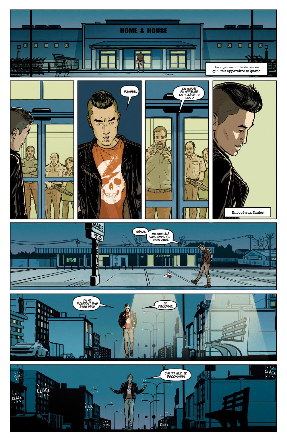 Extrait n°13 du comics Secret Weapons par Raul Allen