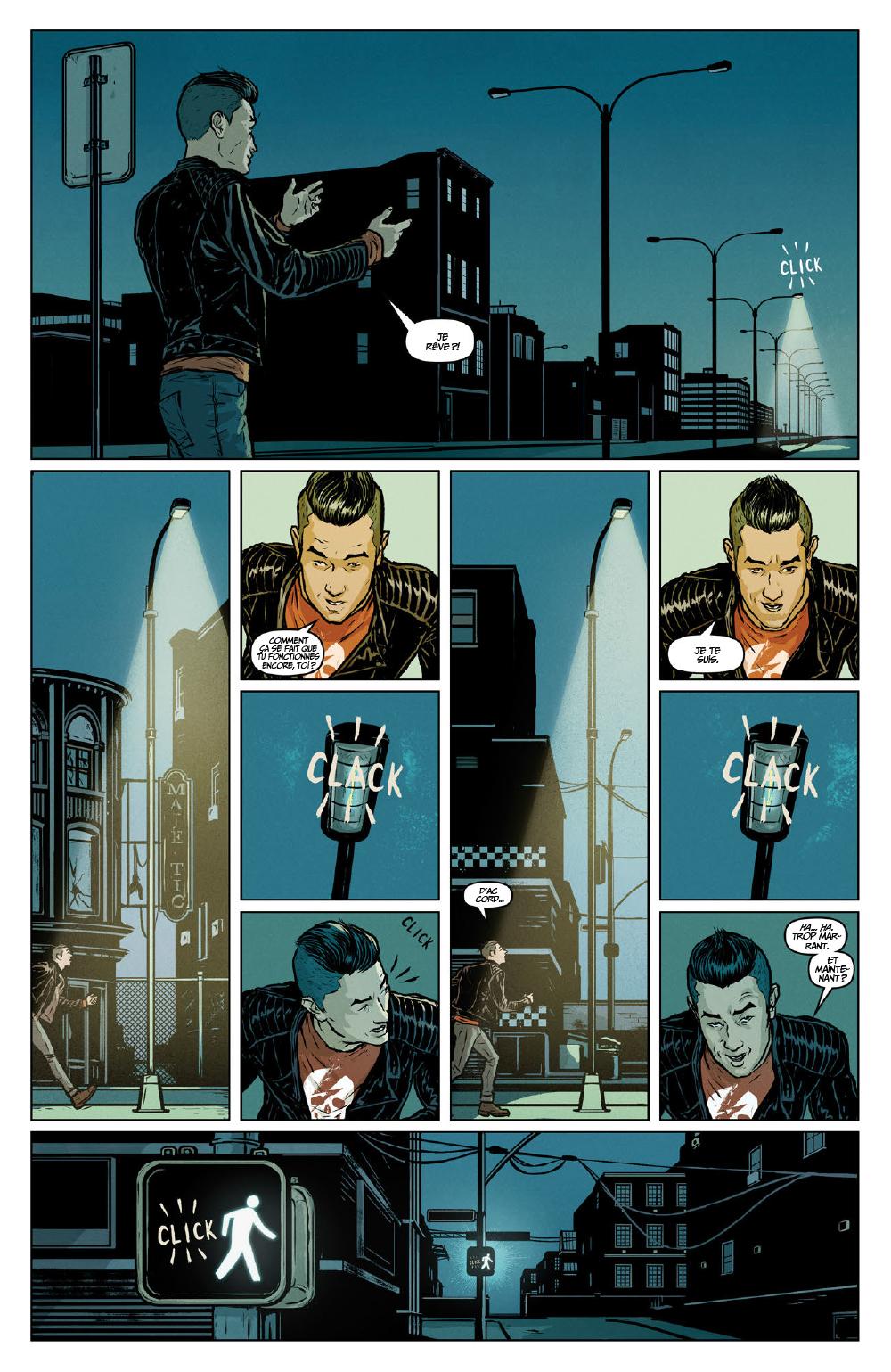 Extrait n°14 du comics Secret Weapons par Raul Allen