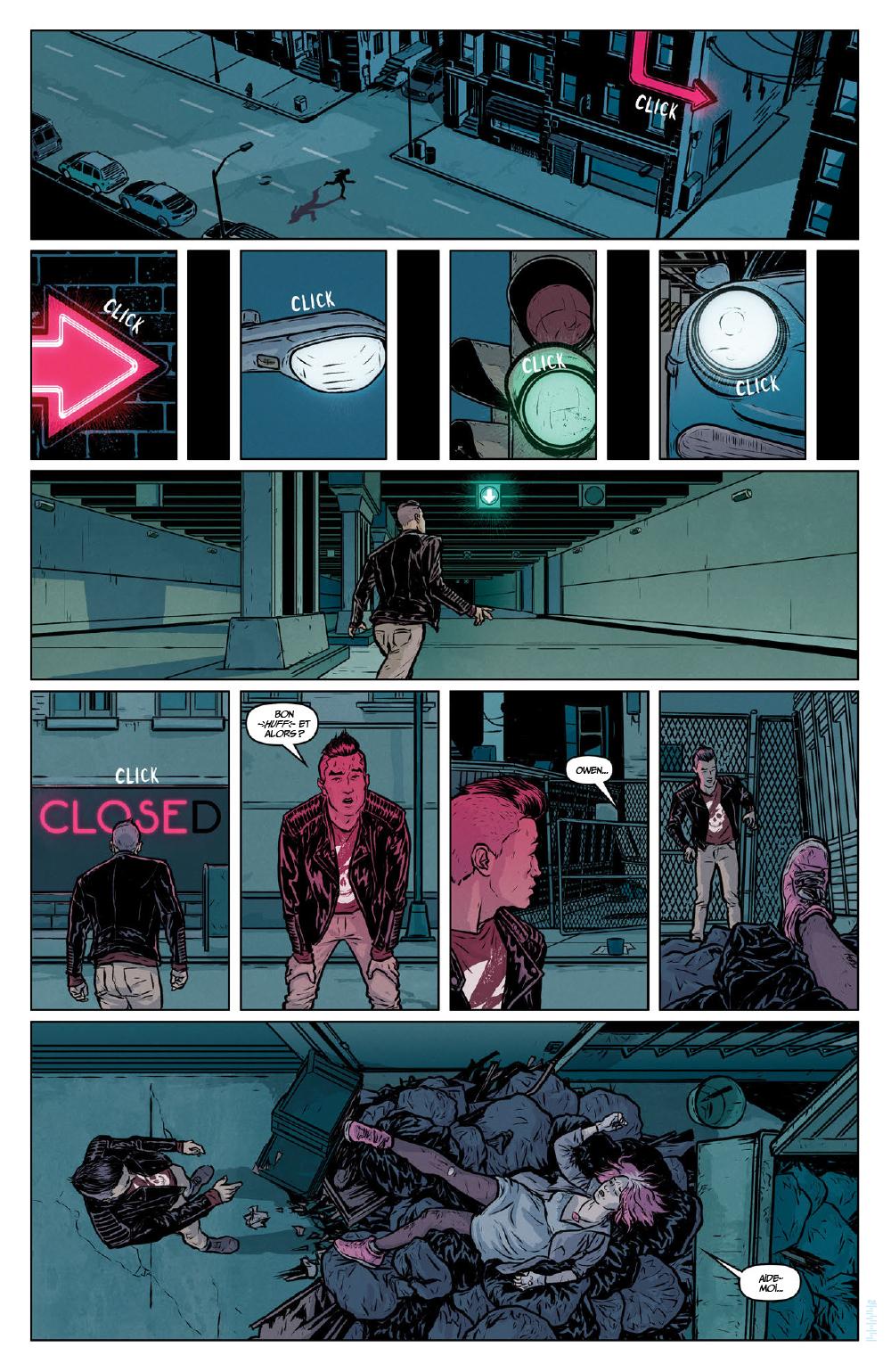 Extrait n°15 du comics Secret Weapons par Raul Allen