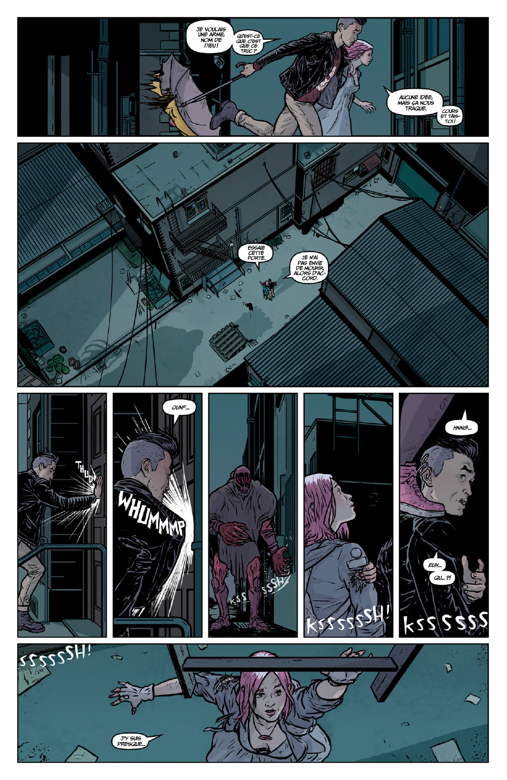 Extrait n°17 du comics Secret Weapons par Raul Allen