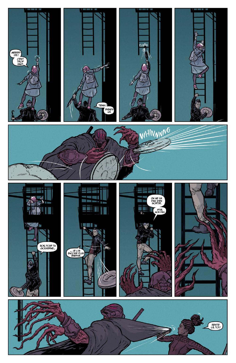 Extrait n°18 du comics Secret Weapons par Raul Allen