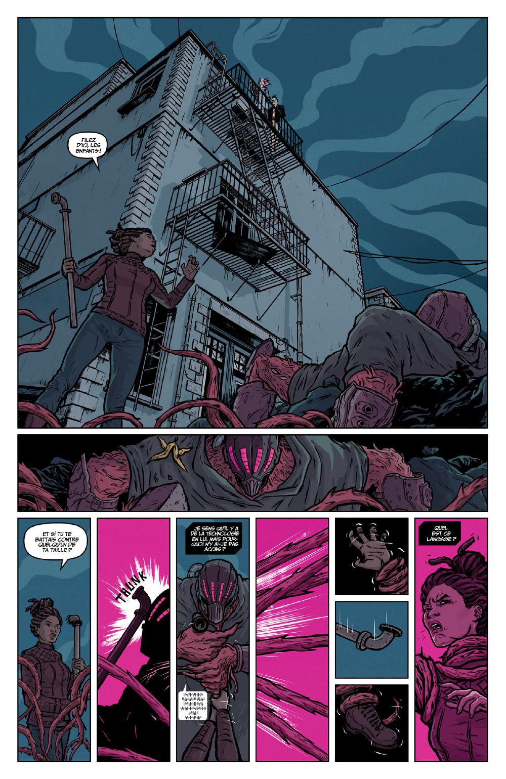 Extrait n°19 du comics Secret Weapons par Raul Allen