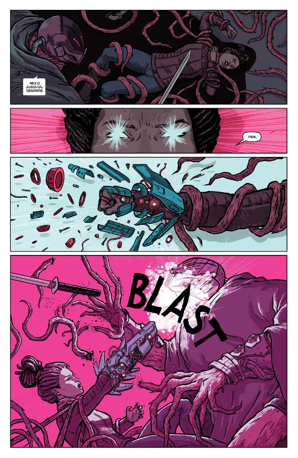 Extrait n°20 du comics Secret Weapons par Raul Allen