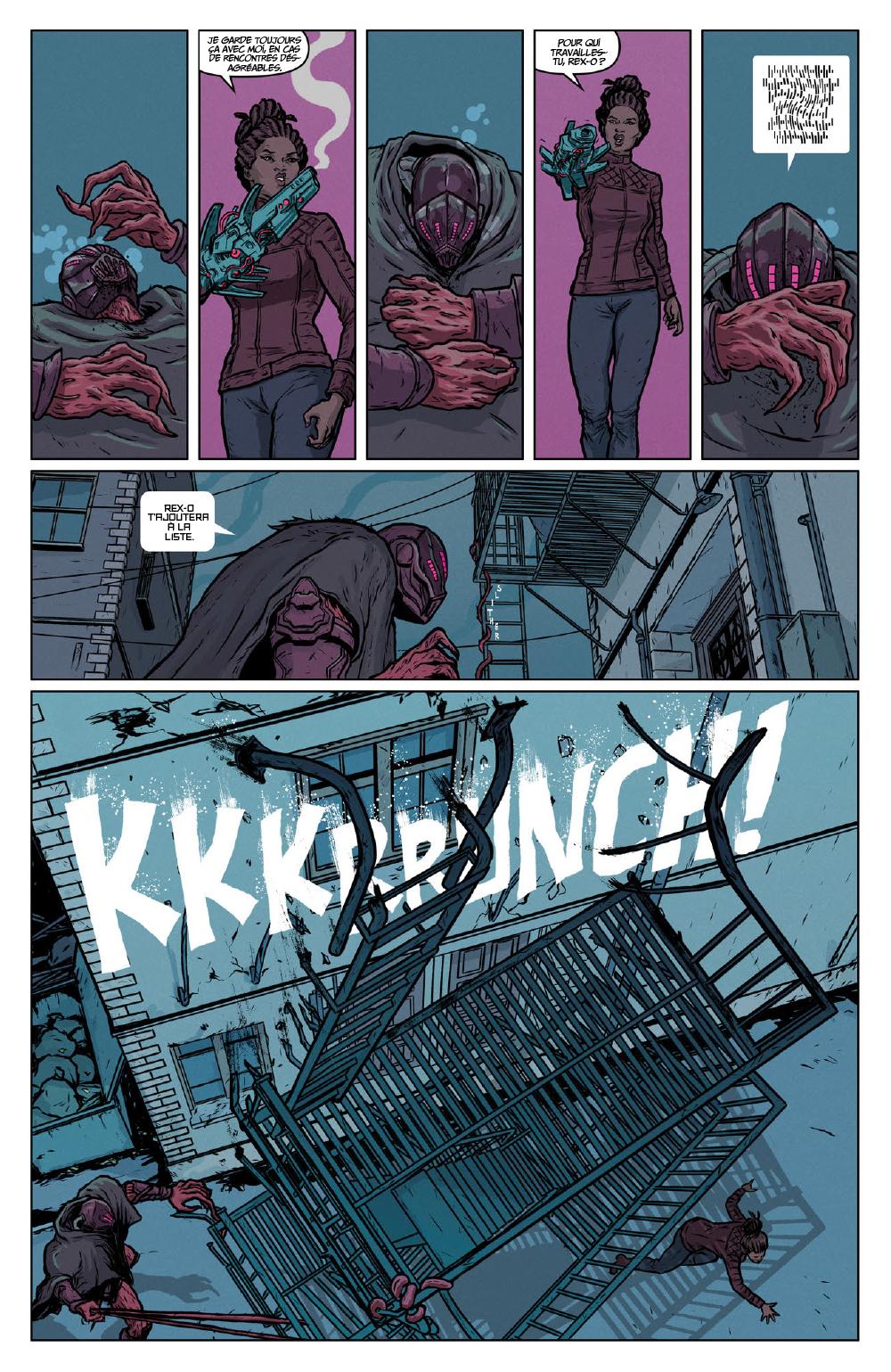 Extrait n°21 du comics Secret Weapons par Raul Allen
