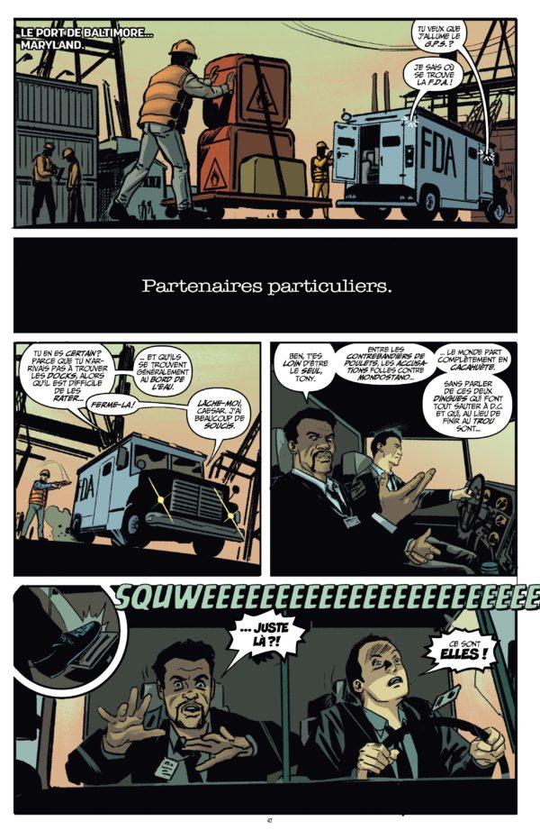 Extrait n°1 du comics Quantum and Woody Must Die ! par James Asmus