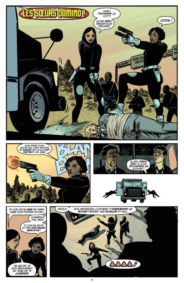 Extrait n°2 du comics Quantum and Woody Must Die ! par James Asmus
