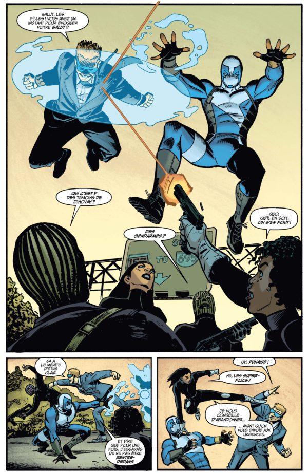 Extrait n°3 du comics Quantum and Woody Must Die ! par James Asmus