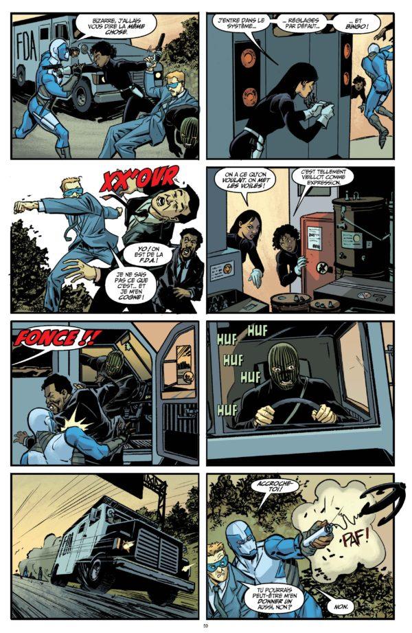 Extrait n°4 du comics Quantum and Woody Must Die ! par James Asmus