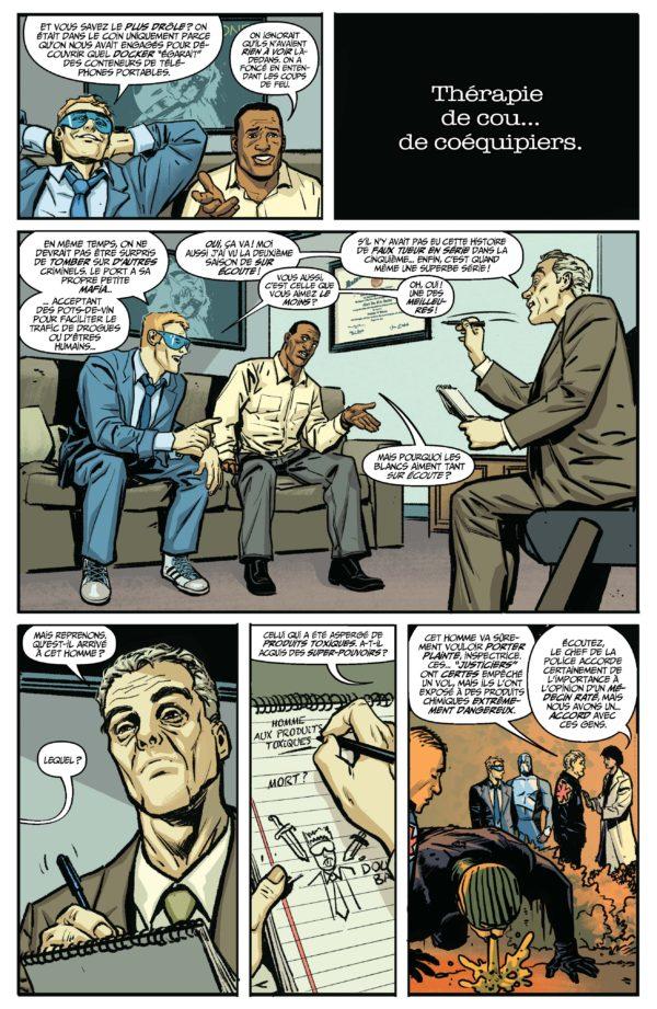 Extrait n°6 du comics Quantum and Woody Must Die ! par James Asmus