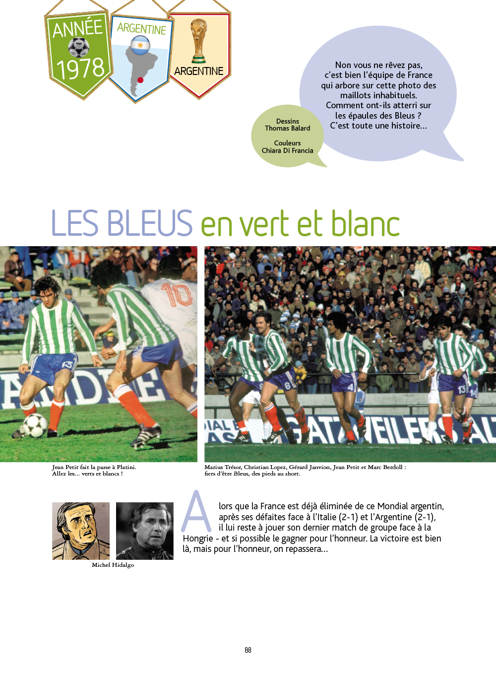 Extrait n°1 de la bd Histoires incroyables de la Coupe du Monde par Collectif d'illustrateurs
