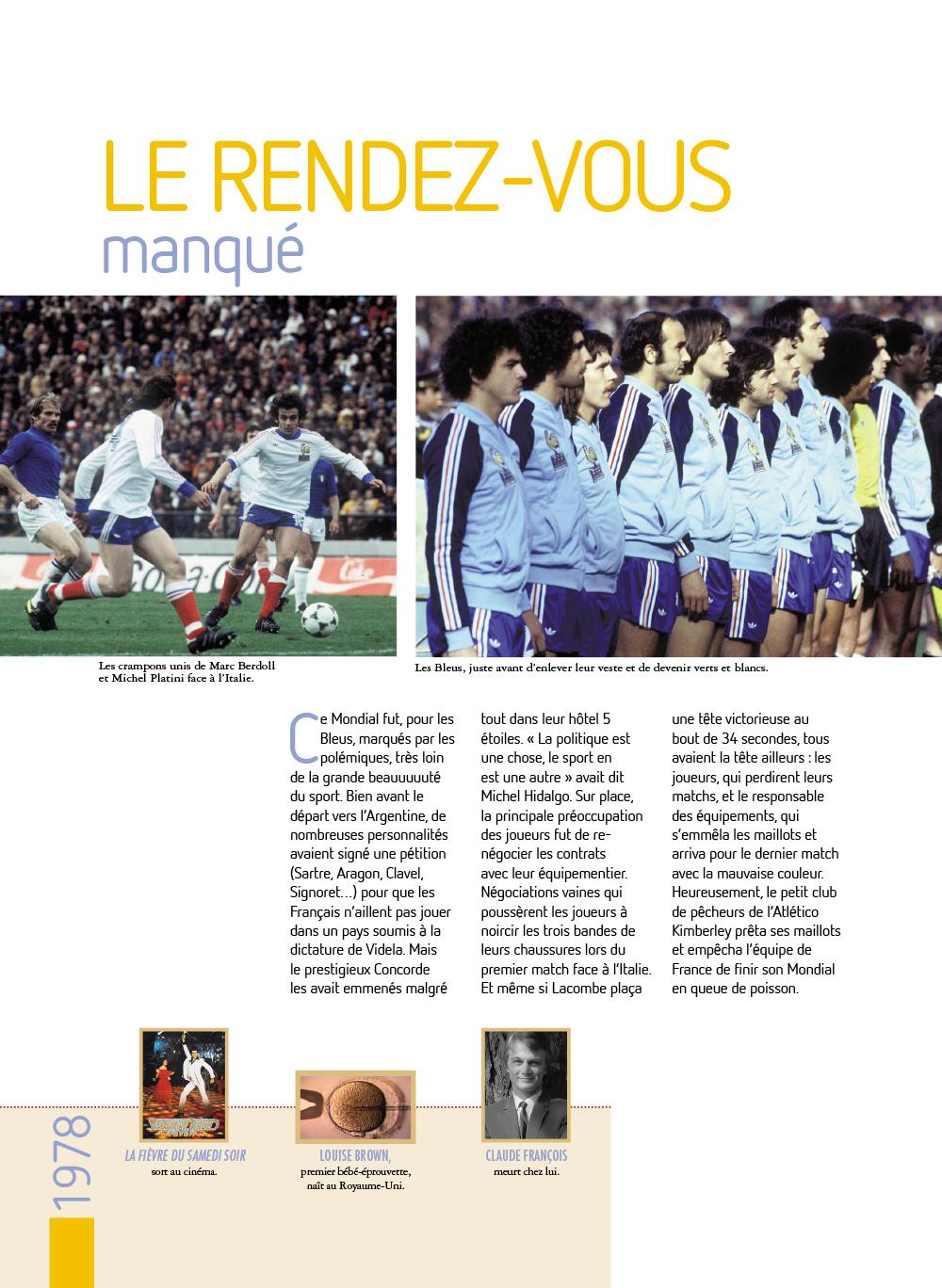 Extrait n°5 de la bd Histoires incroyables de la Coupe du Monde par Collectif d'illustrateurs