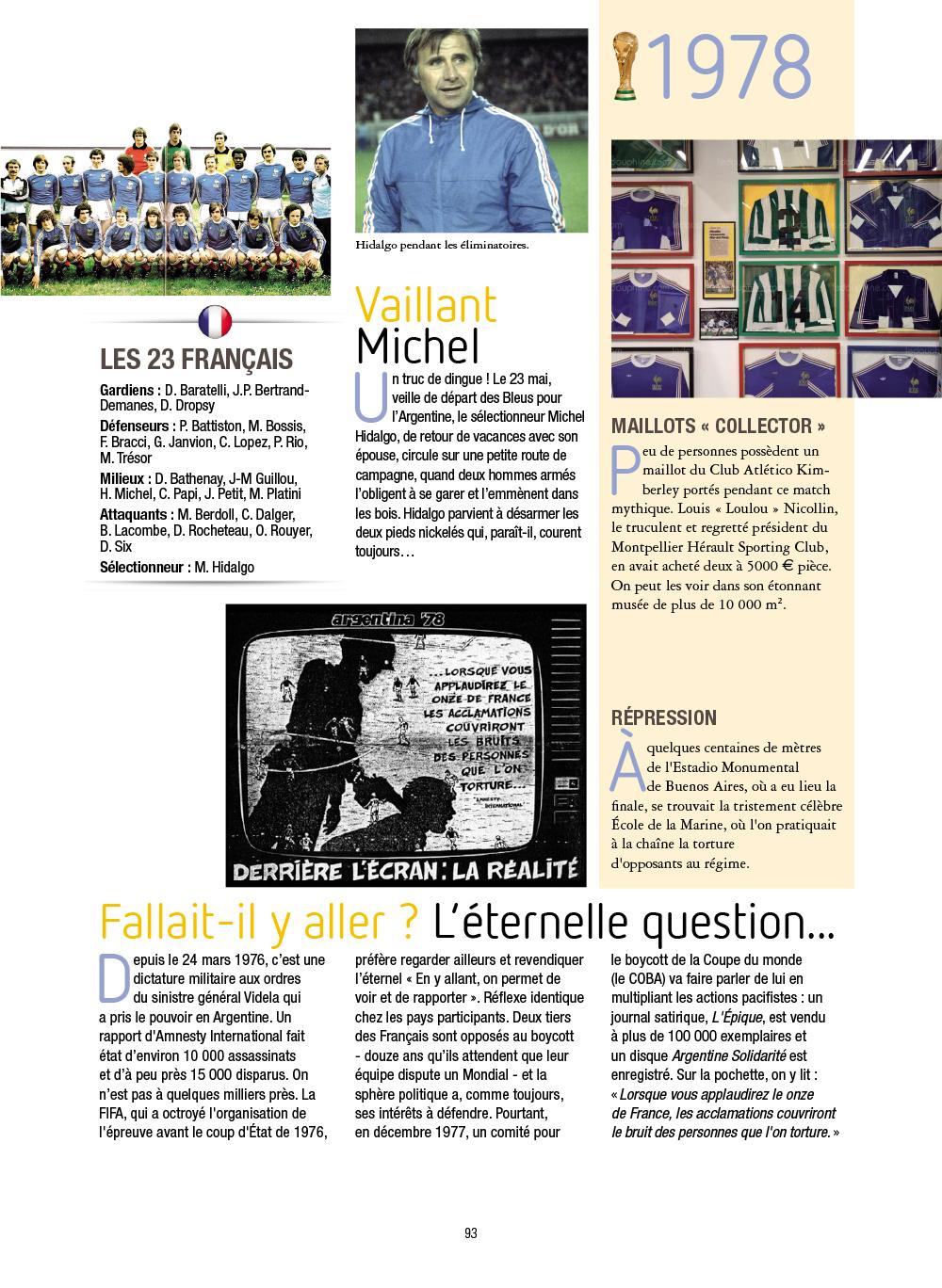 Extrait n°6 de la bd Histoires incroyables de la Coupe du Monde par Collectif d'illustrateurs