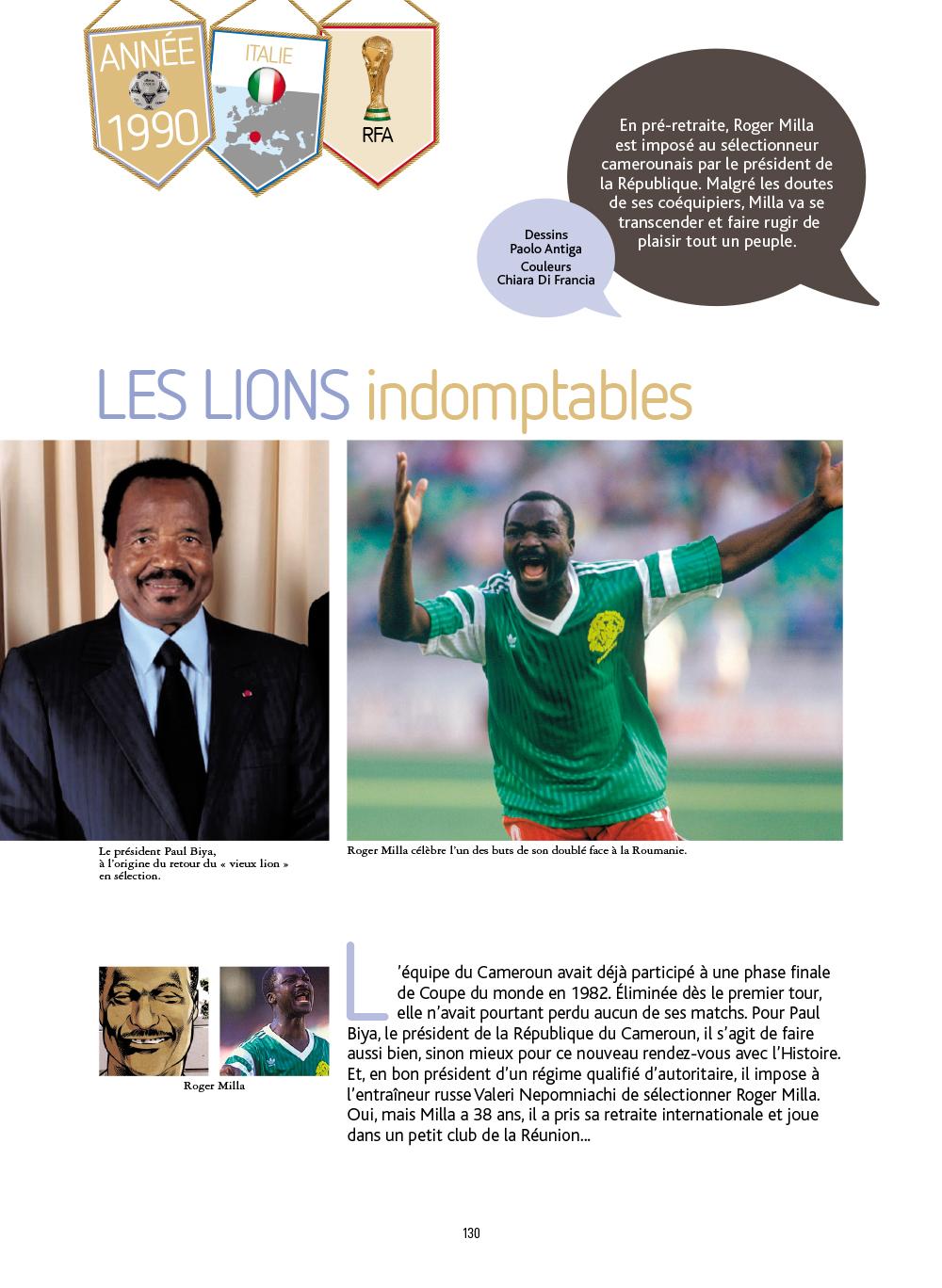 Extrait n°7 de la bd Histoires incroyables de la Coupe du Monde par Collectif d'illustrateurs