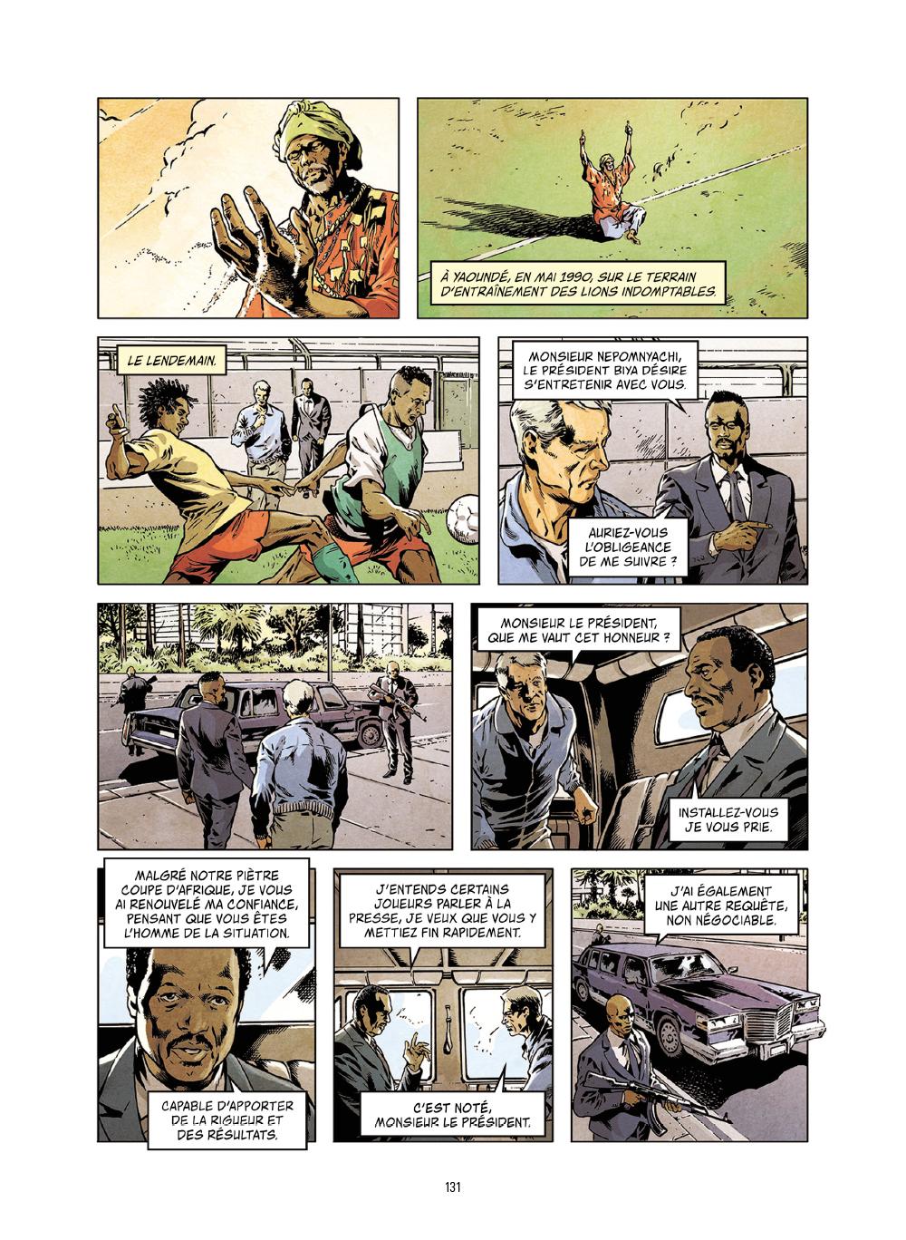 Extrait n°8 de la bd Histoires incroyables de la Coupe du Monde par Collectif d'illustrateurs