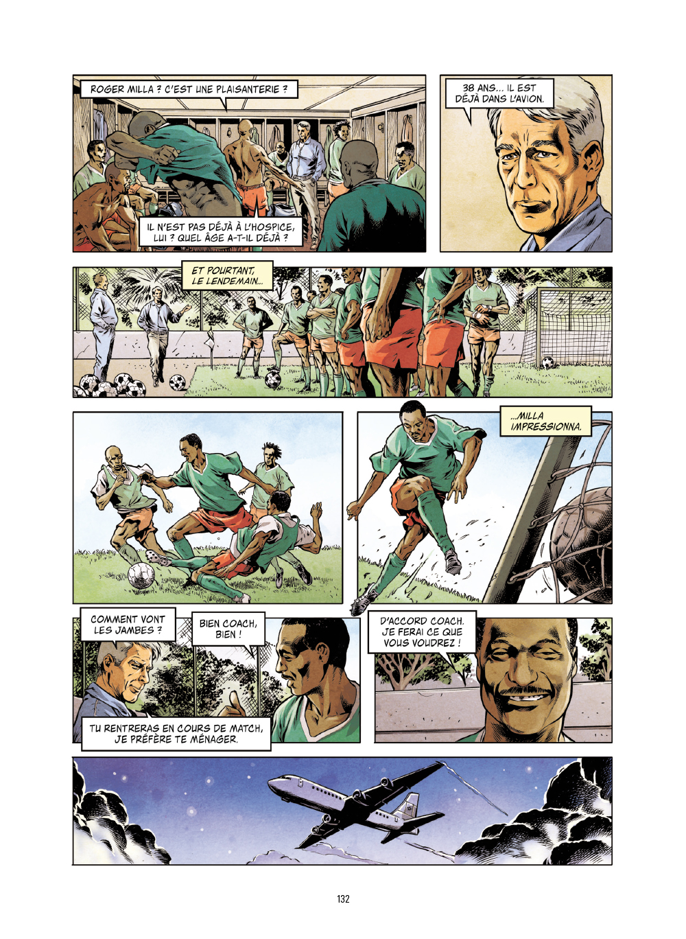 Extrait n°9 de la bd Histoires incroyables de la Coupe du Monde par Collectif d'illustrateurs