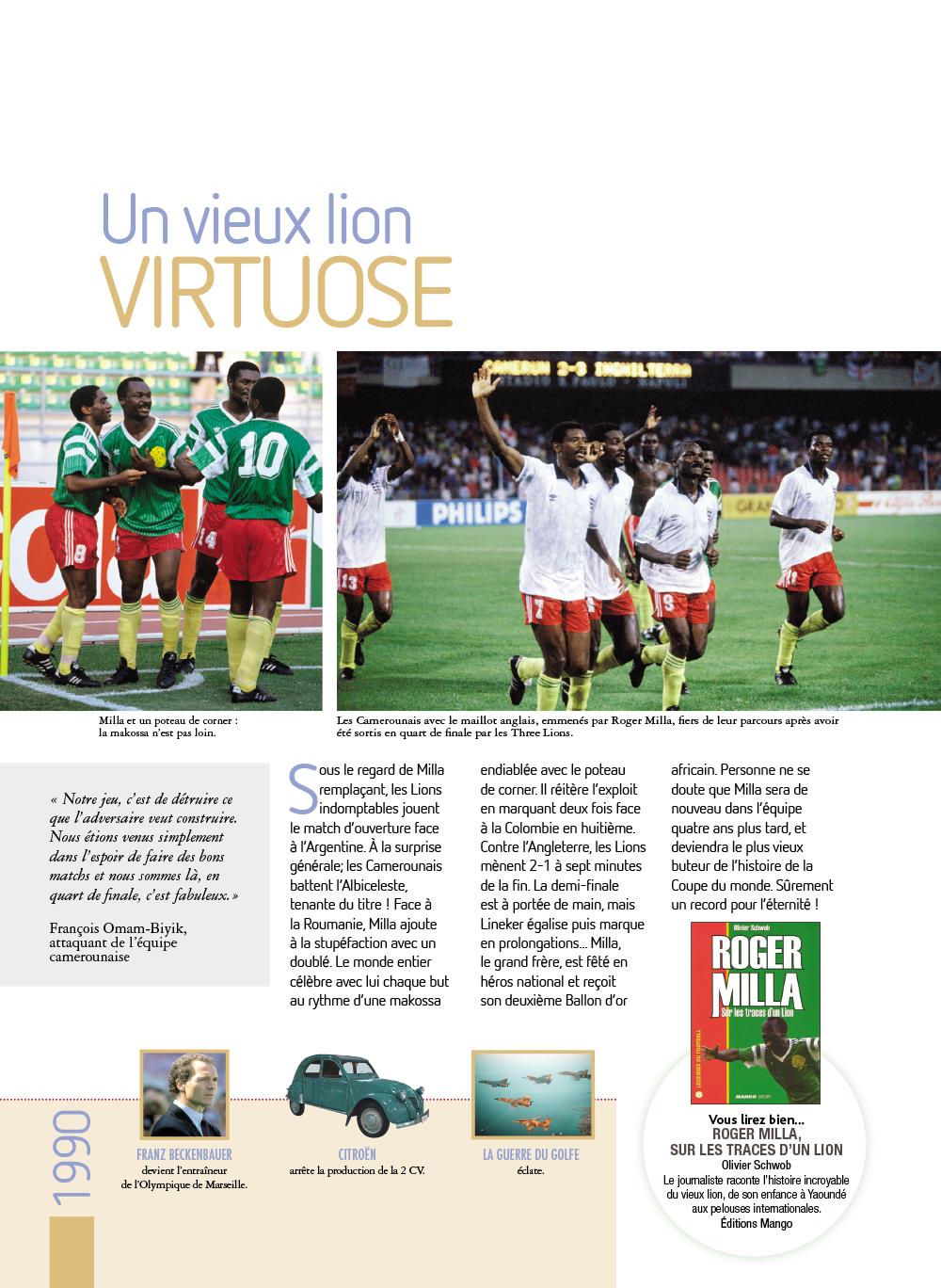 Extrait n°10 de la bd Histoires incroyables de la Coupe du Monde par Collectif d'illustrateurs