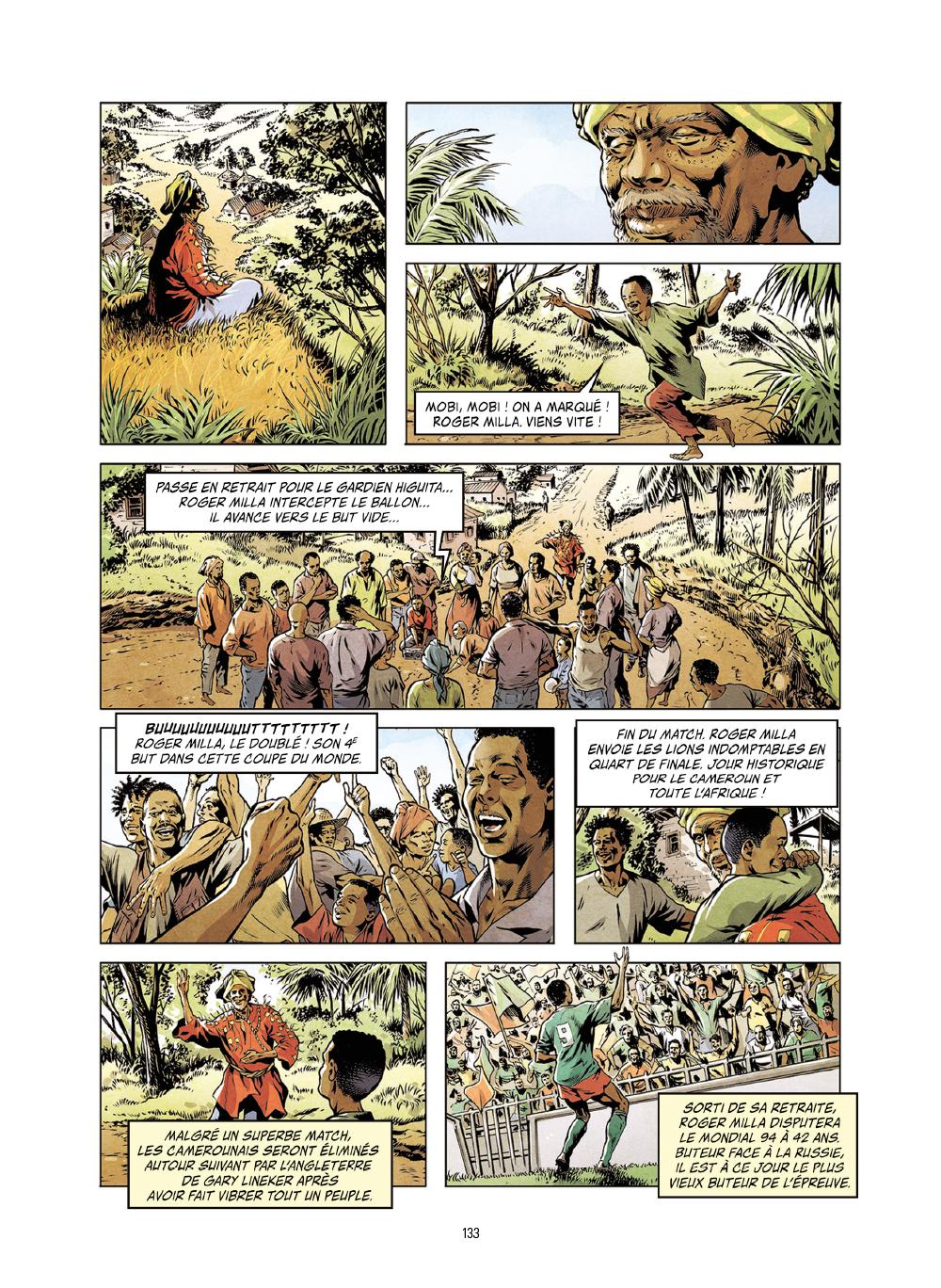 Extrait n°11 de la bd Histoires incroyables de la Coupe du Monde par Collectif d'illustrateurs
