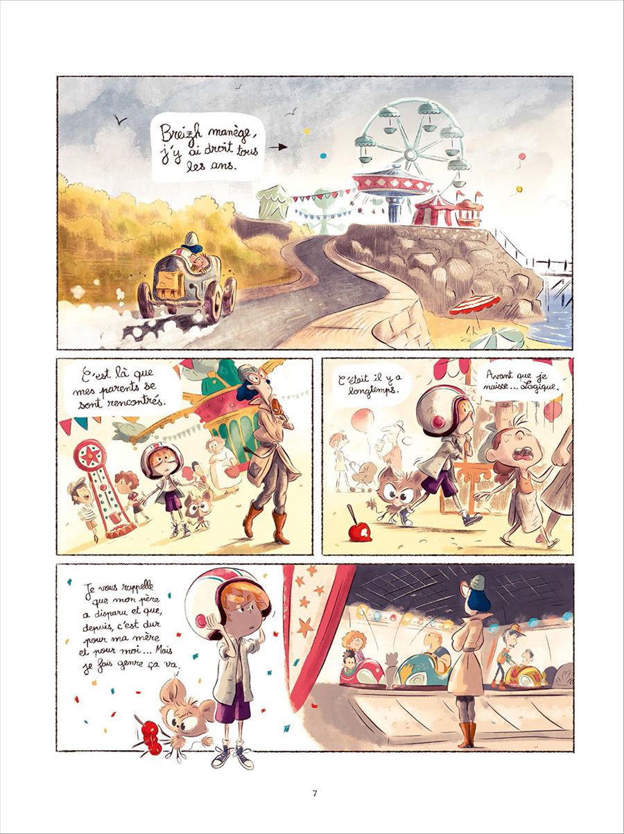Extrait n°3 de la bd tome 2 par Bastien Quignon