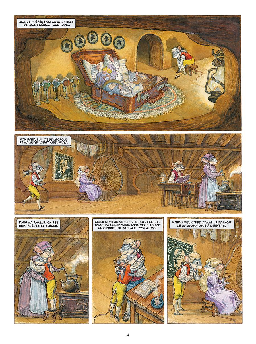 Extrait n°2 de la bd tome 1 par Gradimir Smudja