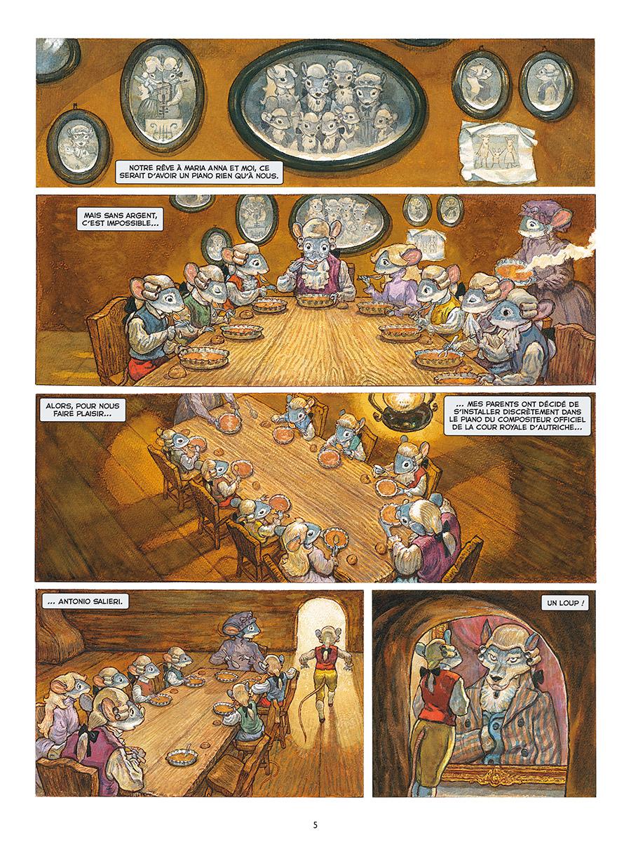 Extrait n°3 de la bd tome 1 par Gradimir Smudja