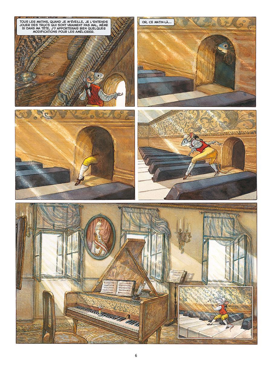 Extrait n°4 de la bd tome 1 par Gradimir Smudja