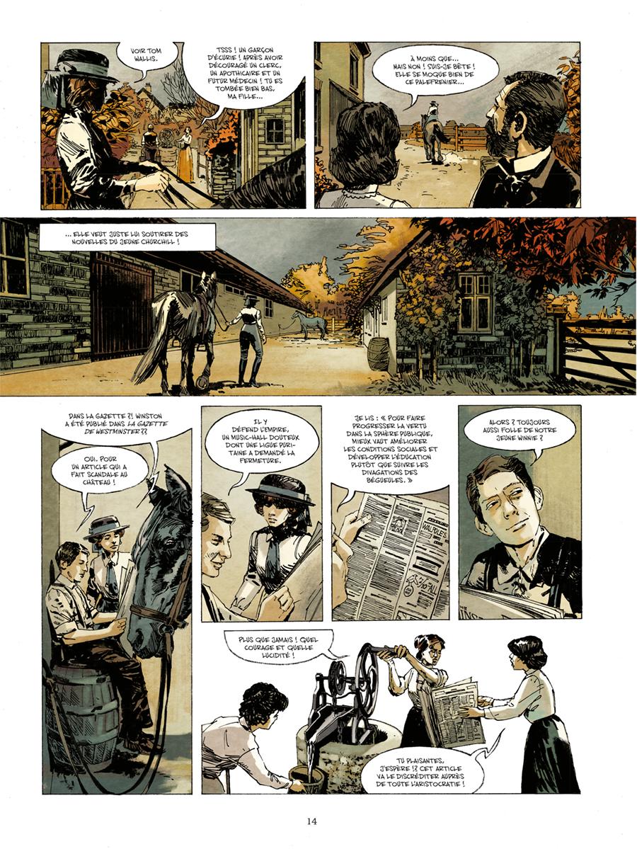 Extrait n°10 de la bd Churchill et moi par Frank Giroud