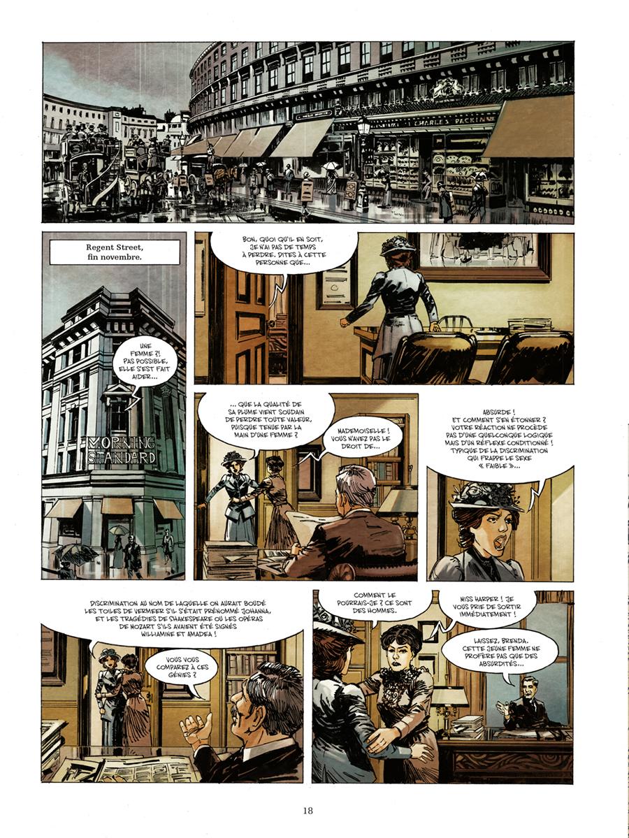 Extrait n°14 de la bd Churchill et moi par Frank Giroud
