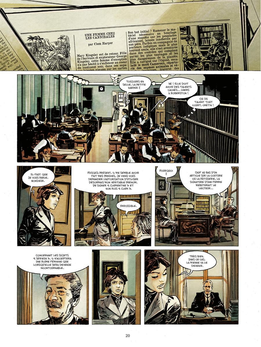 Extrait n°16 de la bd Churchill et moi par Frank Giroud