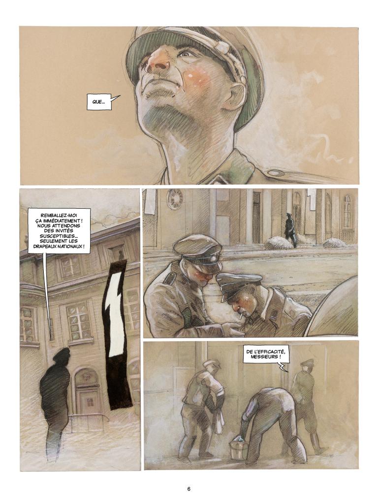 Extrait n°2 de la bd Wannsee par Fabrice Le Hénanff