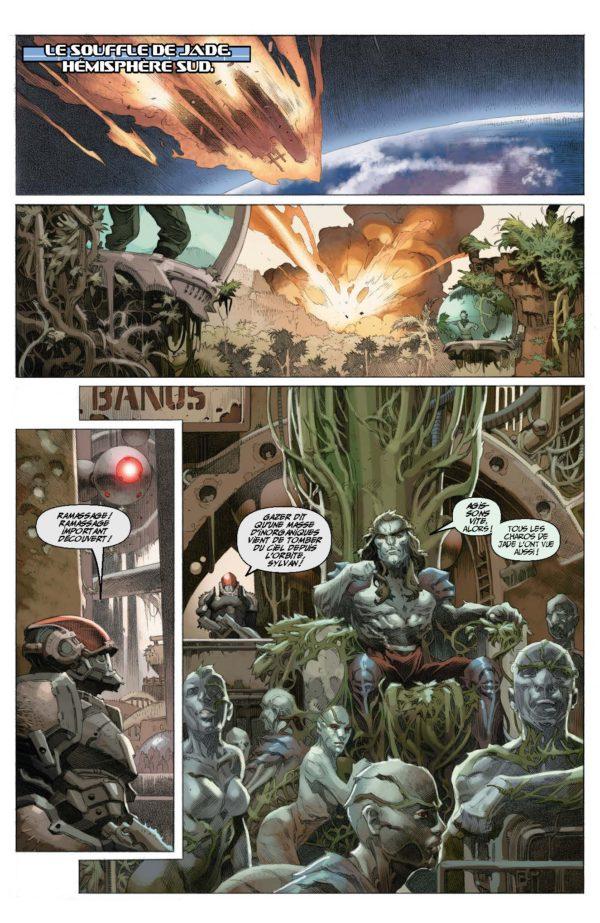Extrait n°1 du comics War Mother par Fred Van Lente