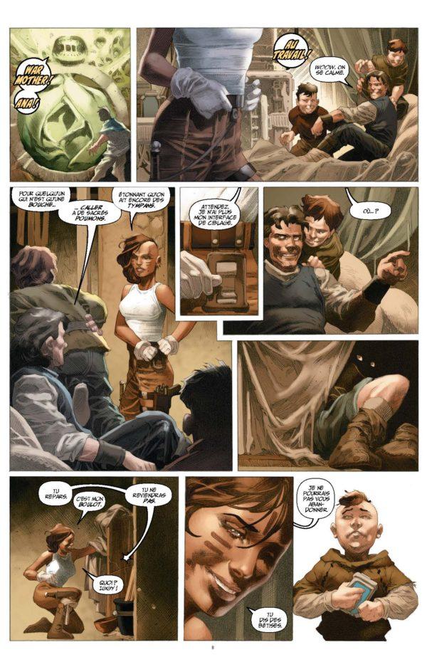 Extrait n°2 du comics War Mother par Fred Van Lente