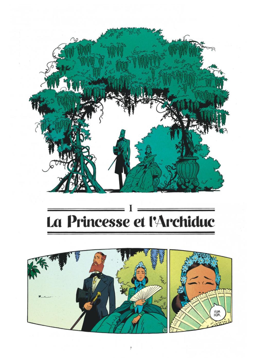 Extrait n°5 tome 1 par Fabien Nury