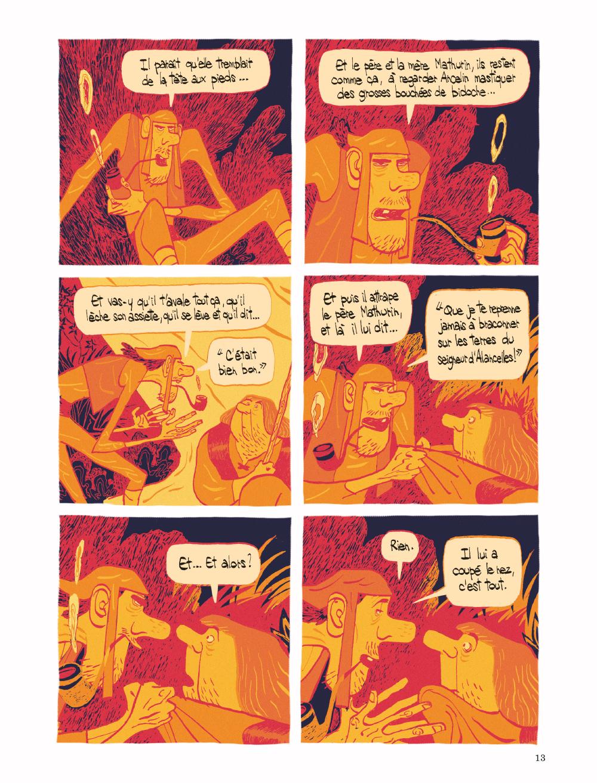 Extrait n°2 tome 1 par Cyril Pedrosa