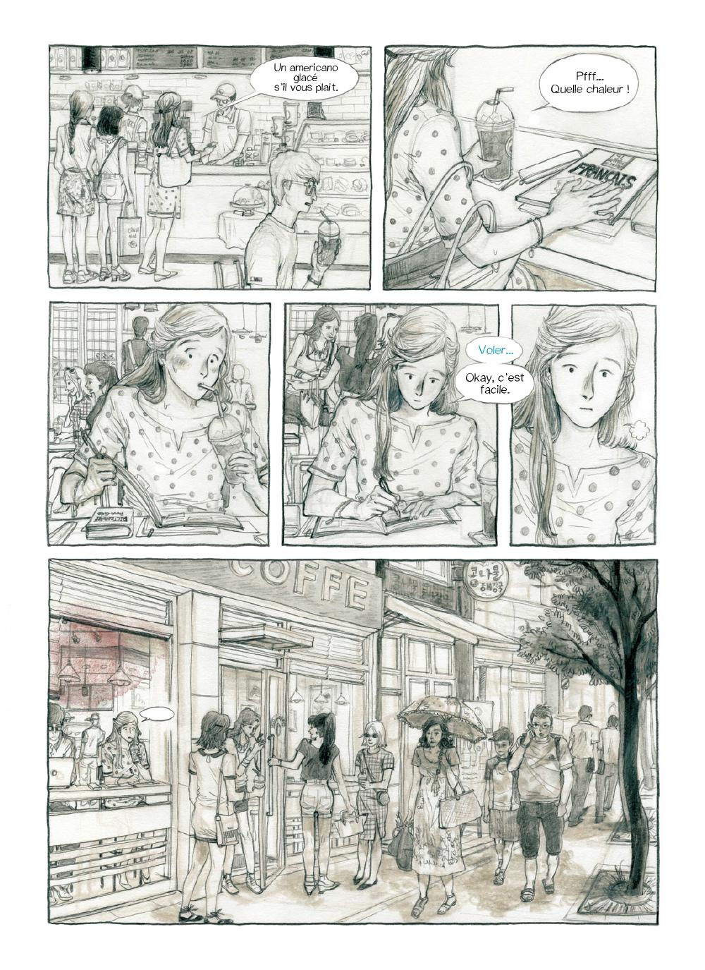 Extrait n°1 Je ne suis pas d'Ici  par Yunbo