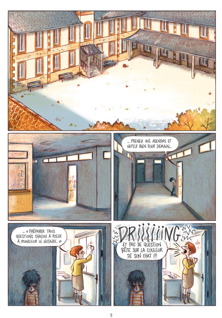 Extrait n°1 tome 1 par Léa Mazé