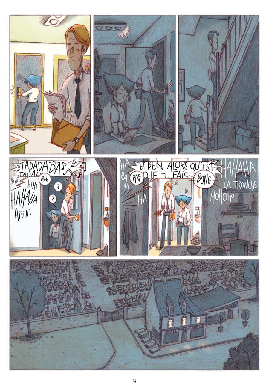 Extrait n°10 tome 1 par Léa Mazé