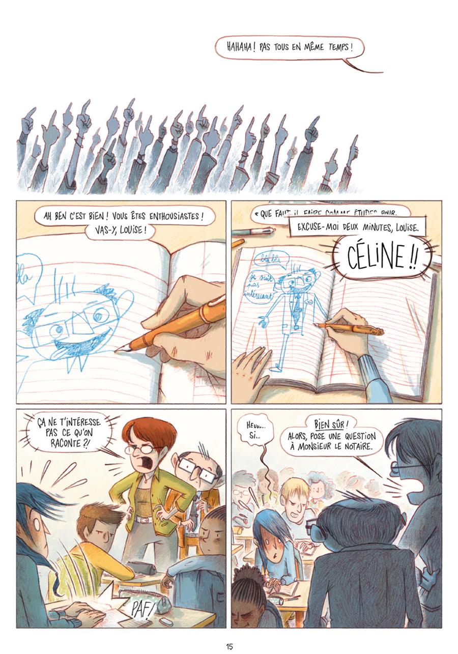 Extrait n°11 tome 1 par Léa Mazé
