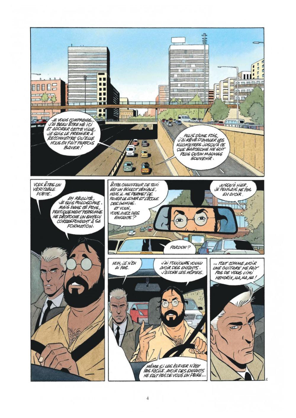 Extrait n°2 de la bd L'Art de mourir par Philippe Raule