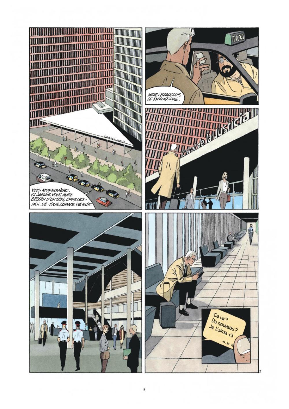 Extrait n°3 de la bd L'Art de mourir par Philippe Raule