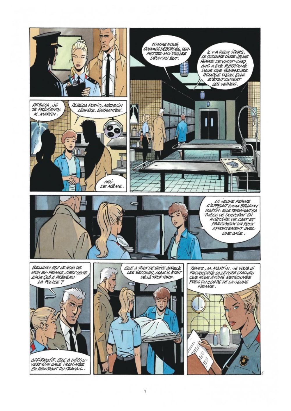 Extrait n°5 de la bd L'Art de mourir par Philippe Raule