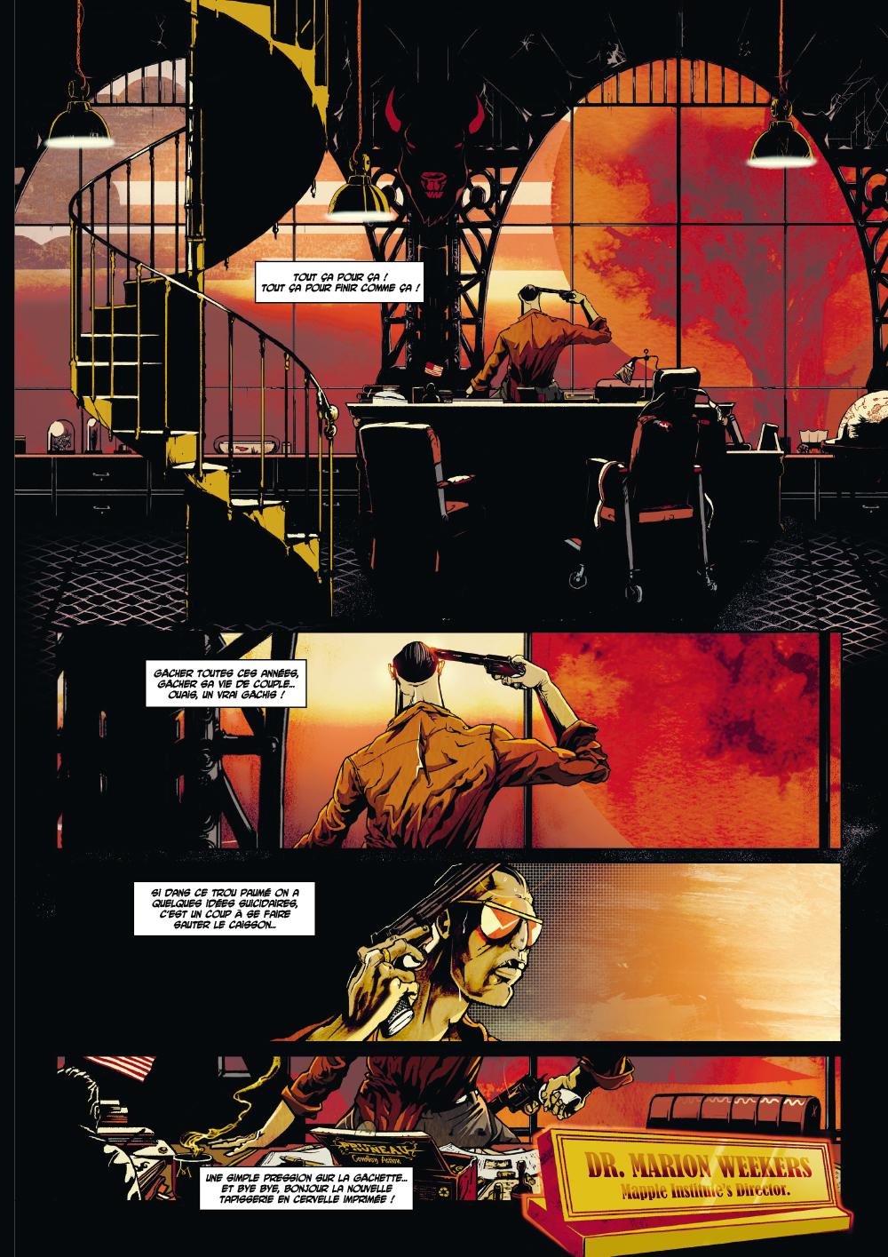Extrait n°1 du comics par Hasteda