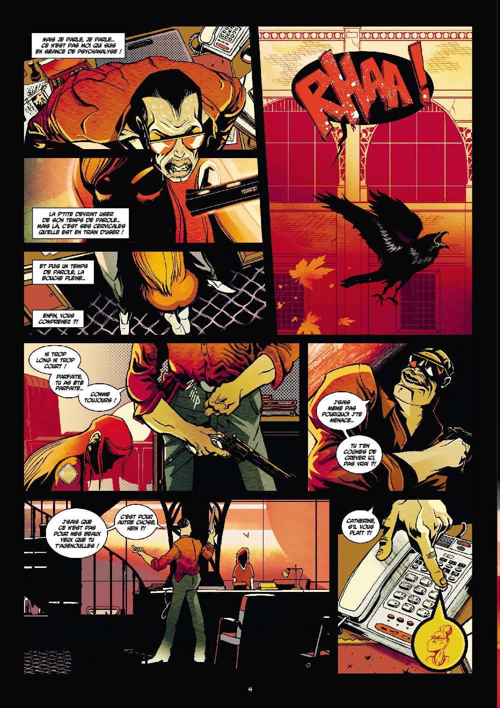 Extrait n°2 du comics par Hasteda