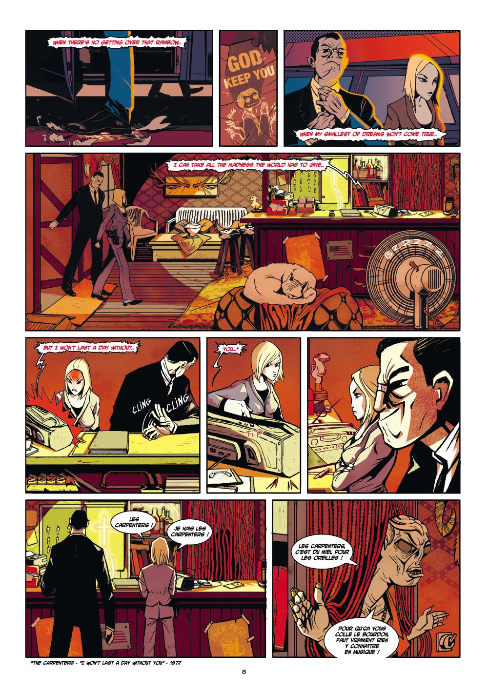 Extrait n°6 du comics par Hasteda
