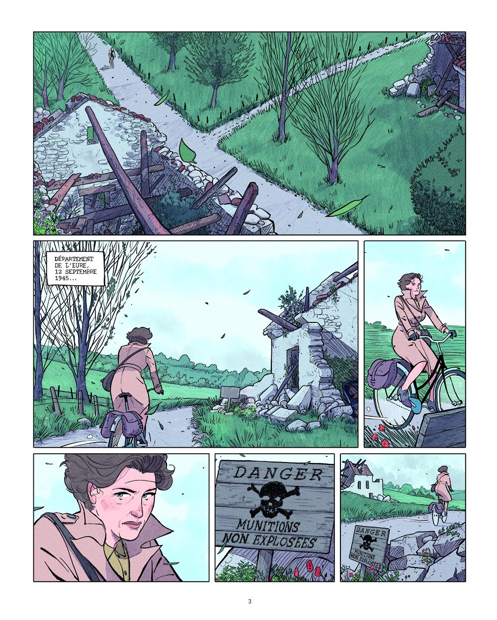 Extrait n°1 de la bd tome 1 par Kris