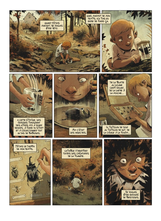 Extrait n°1 de la bd tome 1 par Julien Gaet's